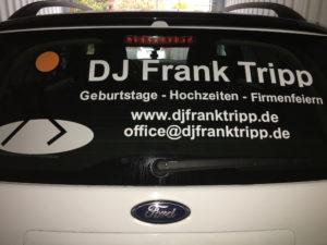 DJ Unna, DJ Unna Hochzeit, Werbung DJ Unna Hochzeit, Autowerbung Mobiler DJ Unna