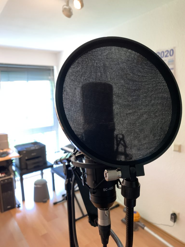 Großmembran Kondensatormikrofon